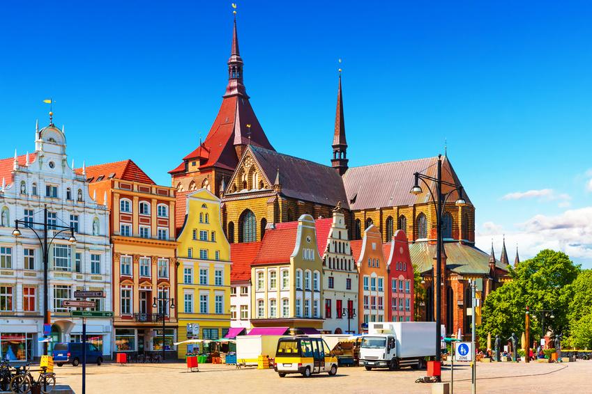 City-Handel in Rostock funktioniert